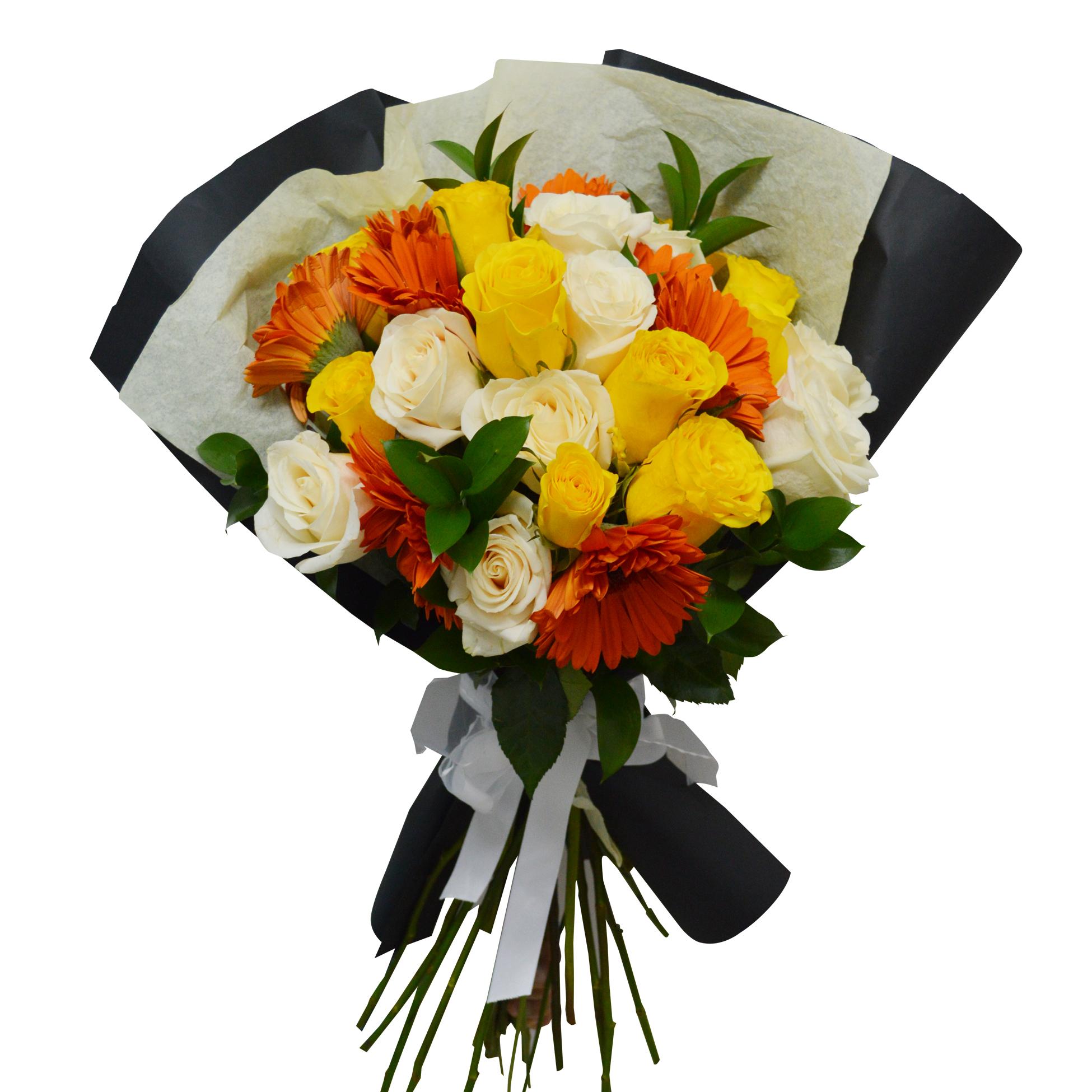 Ramo de flores Mixto con Gerberas y Rosas