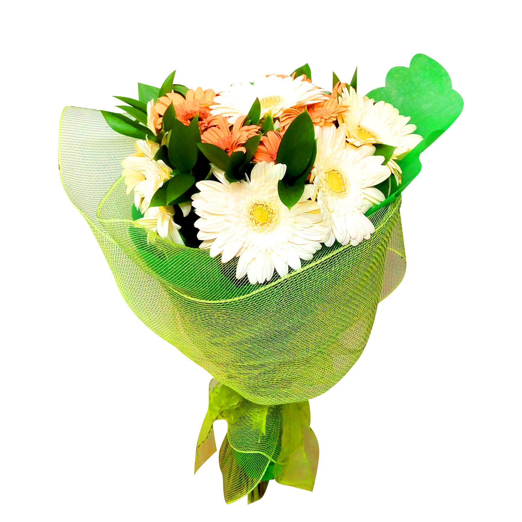 Ramo de flores Mixto con Gerberas y Alstromerias