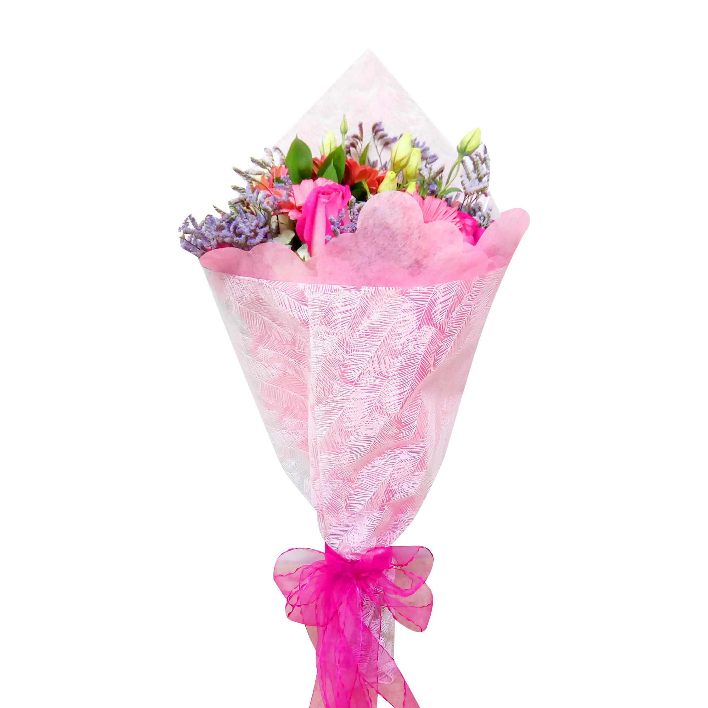 Ramo de flores Mixto con Gerberas, Mini Rosas