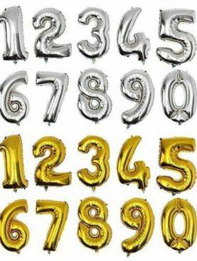 Globos de Números